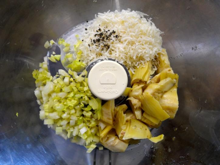 ingredients in food processor bowl