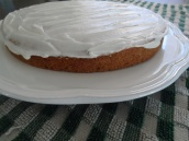 single-layer cake