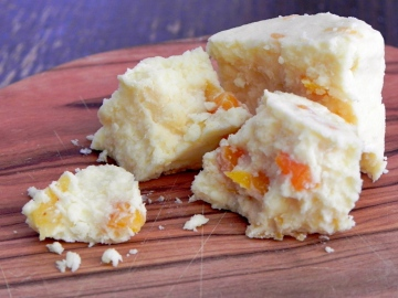 cheese - with apricot