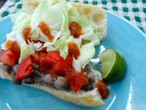 baguette taco