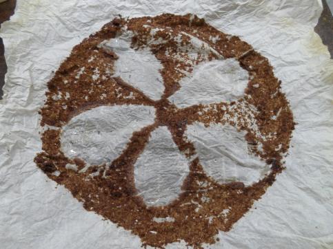 spiced chocolate pear cake