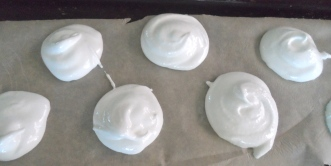 meringue mounds
