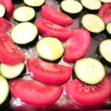 zucchini & tomato