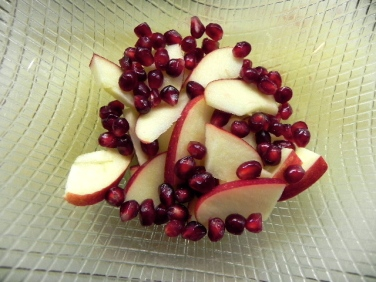 apple & pomegranate
