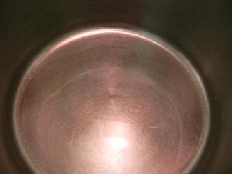 oil in pot