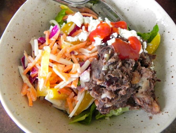 bean + salad