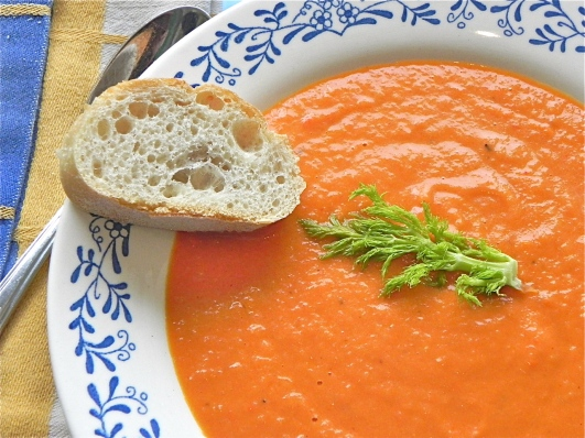 tomato-fennel soup
