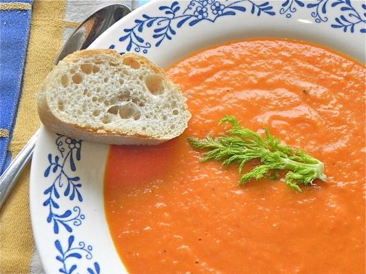 tomato-fennel soup