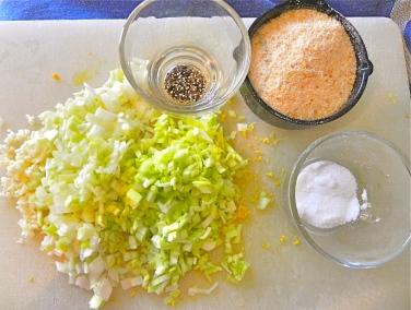 leeks, garlic, etc